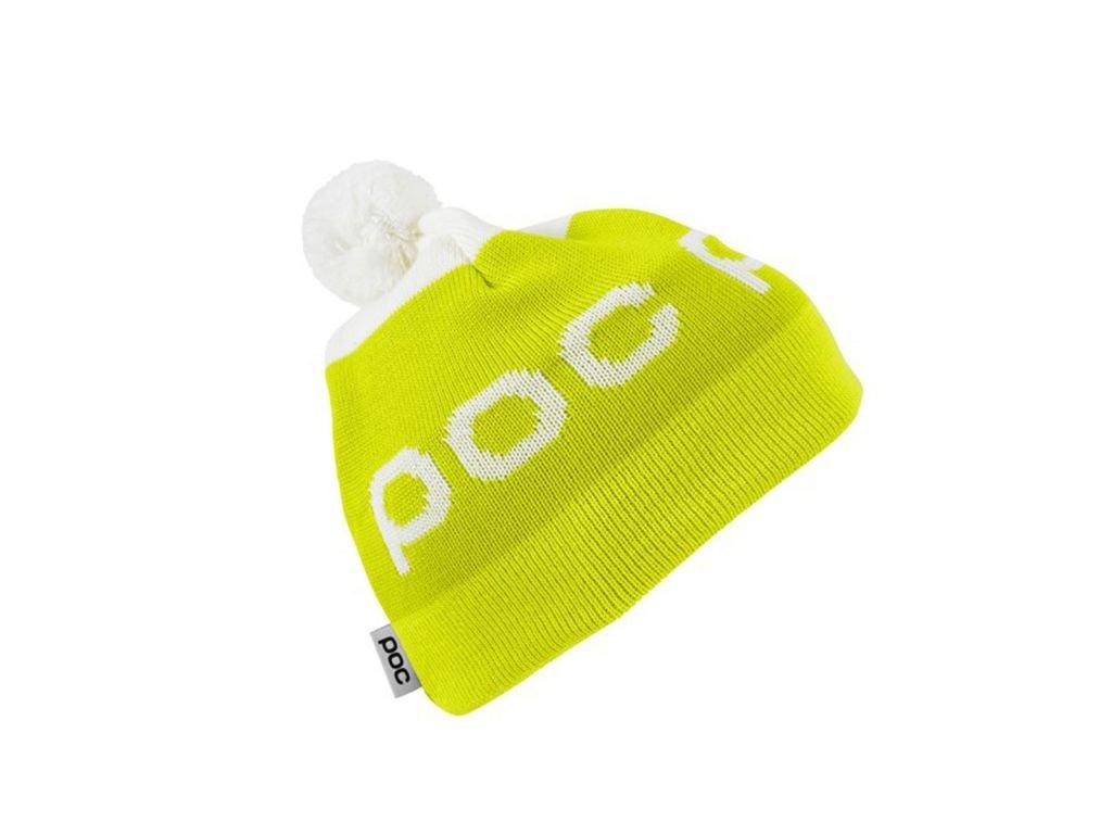 Čepice POC Stripe Yellow/White
