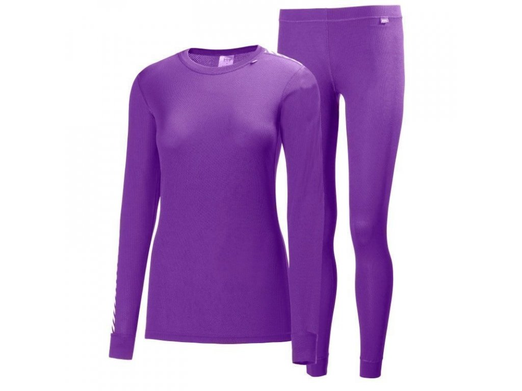 Helly Hansen W Hh Comfort Dry 2 Pack L Sunburned Purple[1]