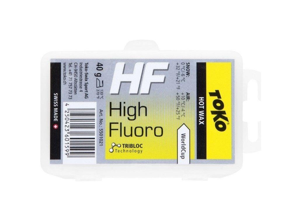 TOKO HF Hot Wax Yellow 40g