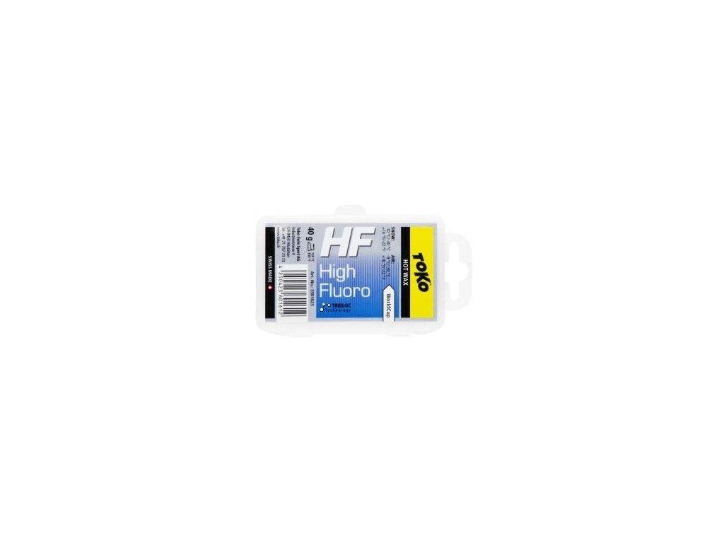 TOKO HF Hot Wax Blue 40g