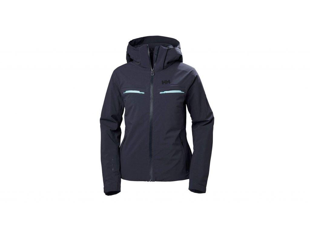 opplanet helly hansen alphelia jacket womens graphite blue extra large 65556 995 xl main[2]