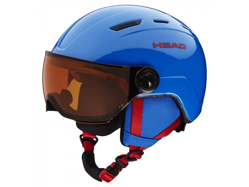 Přilba HEAD Mojo Visor Blue
