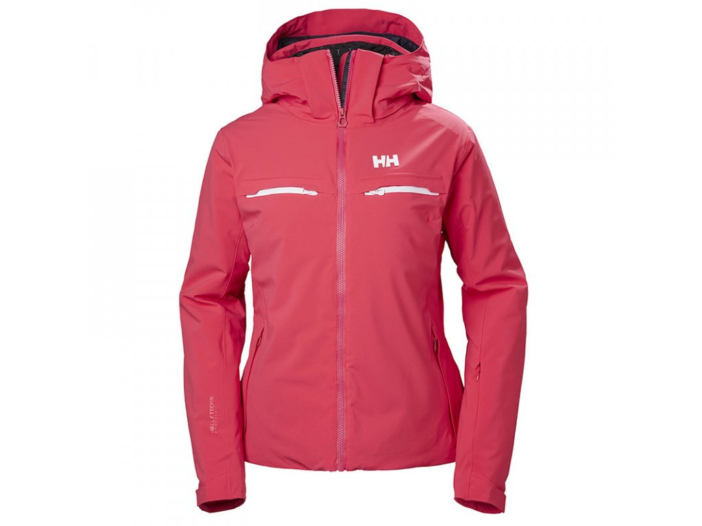 Dámská zimní bunda HELLY HANSEN W Alphelia Jacket Goji Berry