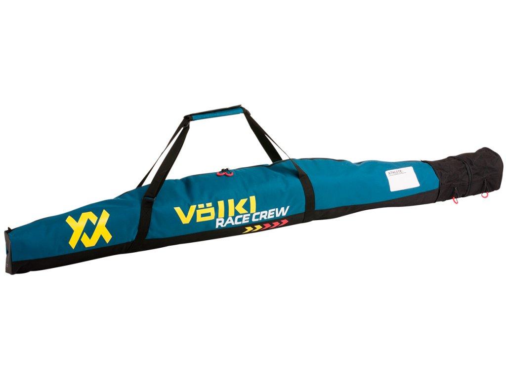 VOLKL Race Single Ski Bag 165+15+15 cm Blue