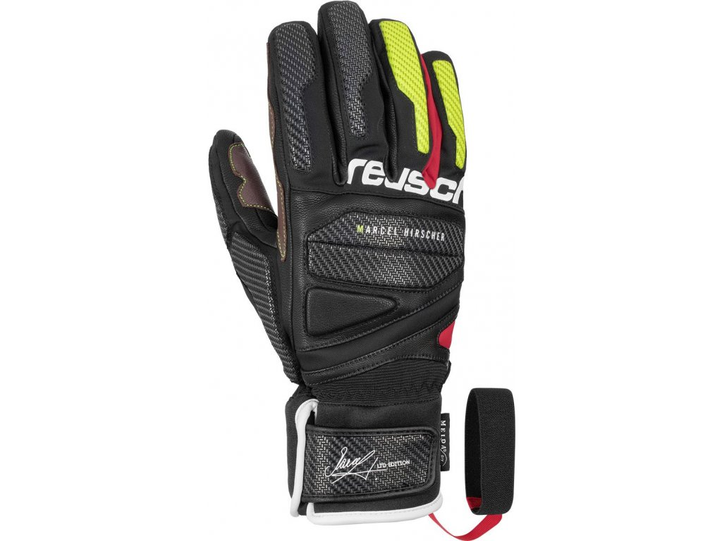 Rukavice REUSCH Marcel Hirscher Black/Fire Red