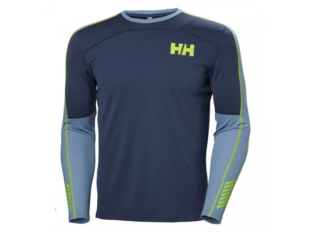 Triko HELLY HANSEN LIFA ACTIVE CREW North Sea Blue