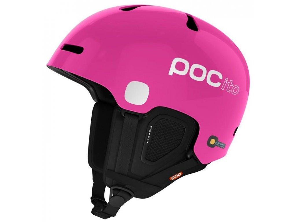Přilba POCito Fornix Fluorescent Pink