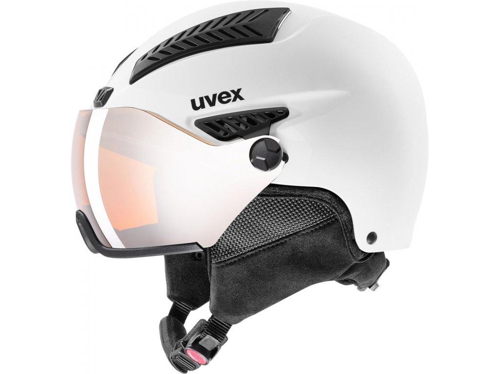 Přilba UVEX HLMT 600 Visor White mat