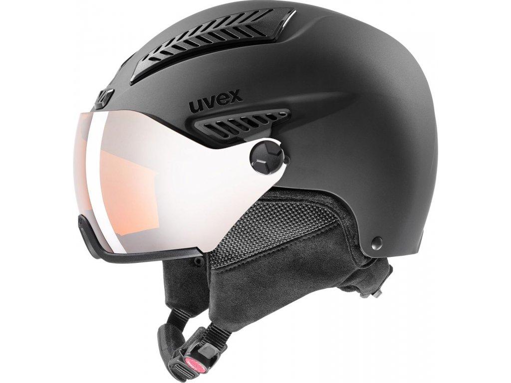Helma UVEX HLMT 600 Visor Black mat