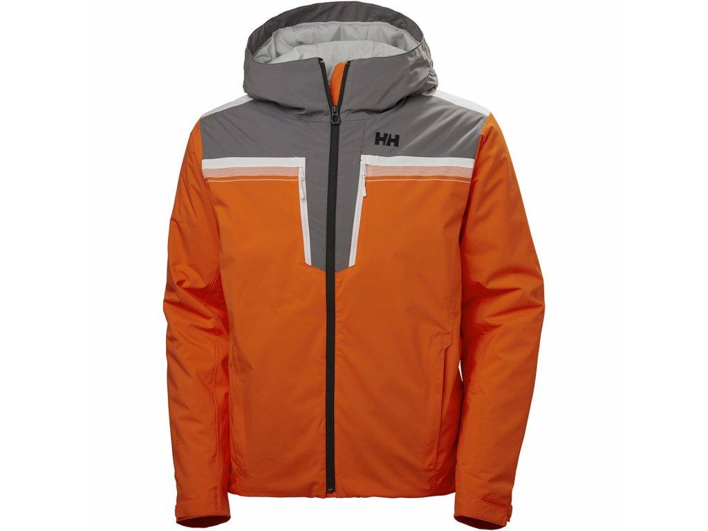Lyžařská bunda Helly HansenDukes Jacket Bright Orange