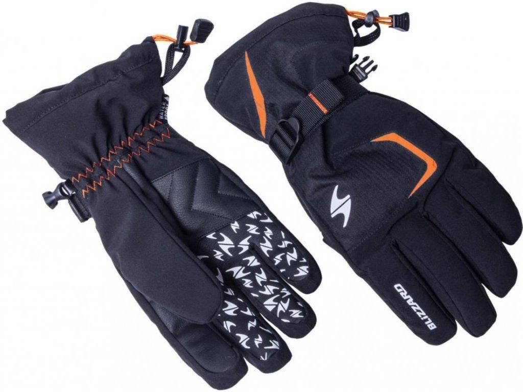 Rukavice BLIZZARD Reflex Black/Orange