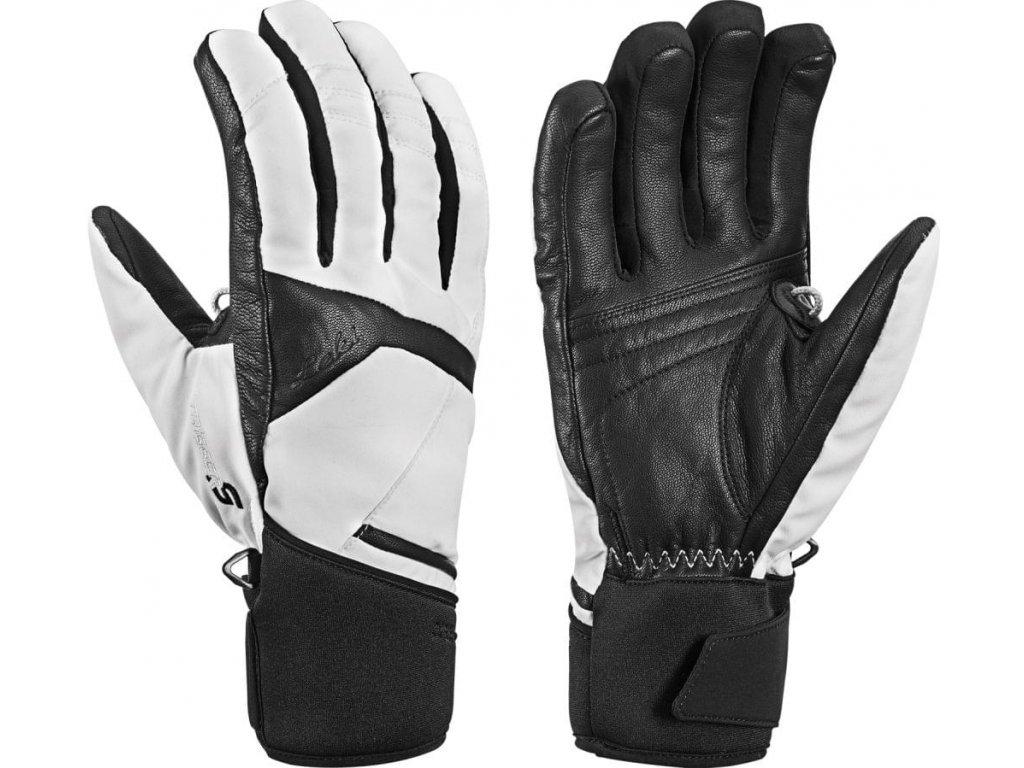 Rukavice LEKI Equip S GTX Lady Black/White