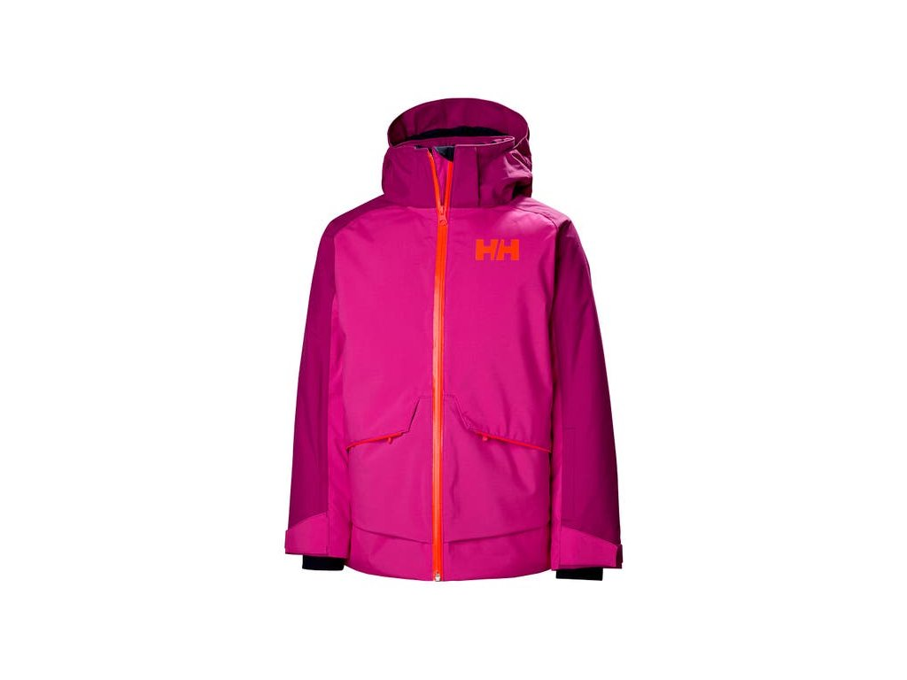 Lyžařská bunda Helly Hansen JR Starlight Jacket Dragon Fruit