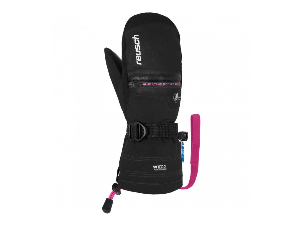 Rukavice REUSCH Luis R-TEX XT Junior Mitten Black/Pink