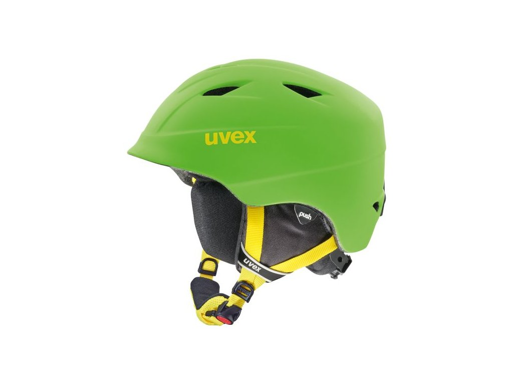 Přilba UVEX AIRWING 2 PRO Apple green mat