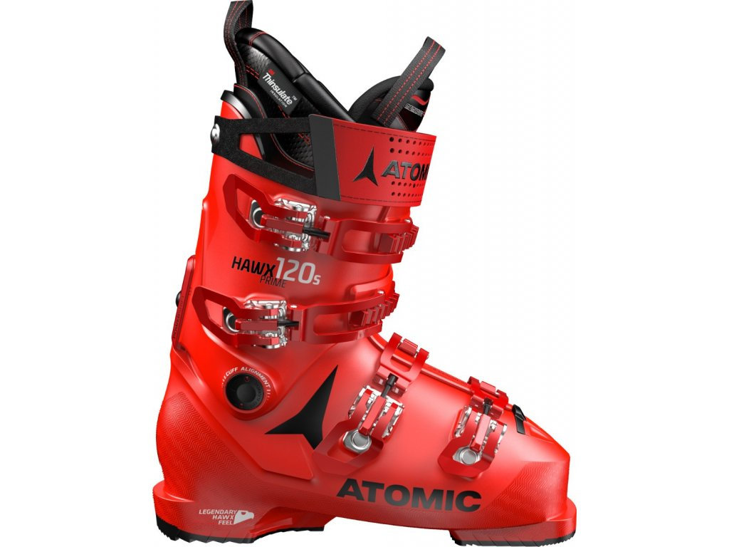 lyžařské boty ATOMIC HAWX PRIME 120 S Red 19/20