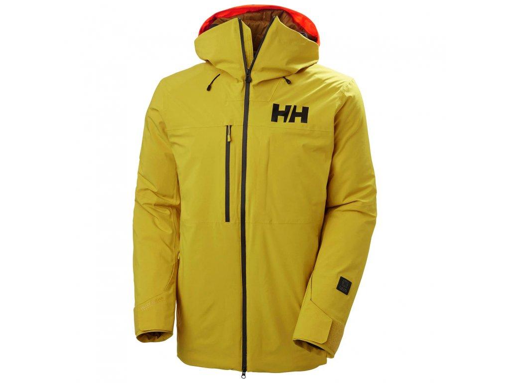 Pánská zimní bunda HELLY HANSEN Firsttrack Lifaloft Jacket Antique Moss
