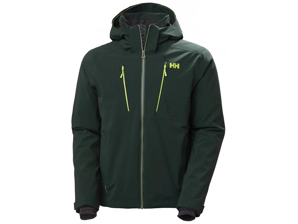 Pánská zimní bunda HELLY HANSEN Alpha 3.0 Jacket Scarab Green