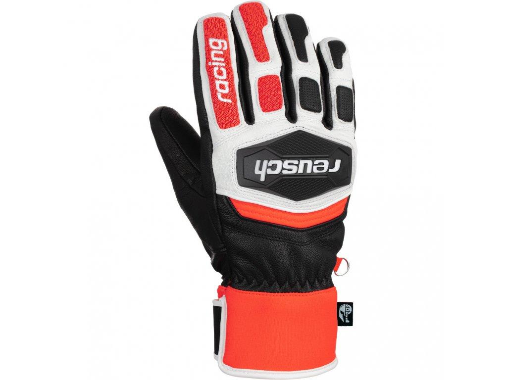 gants de ski reusch worldcup warrior team black red[1]