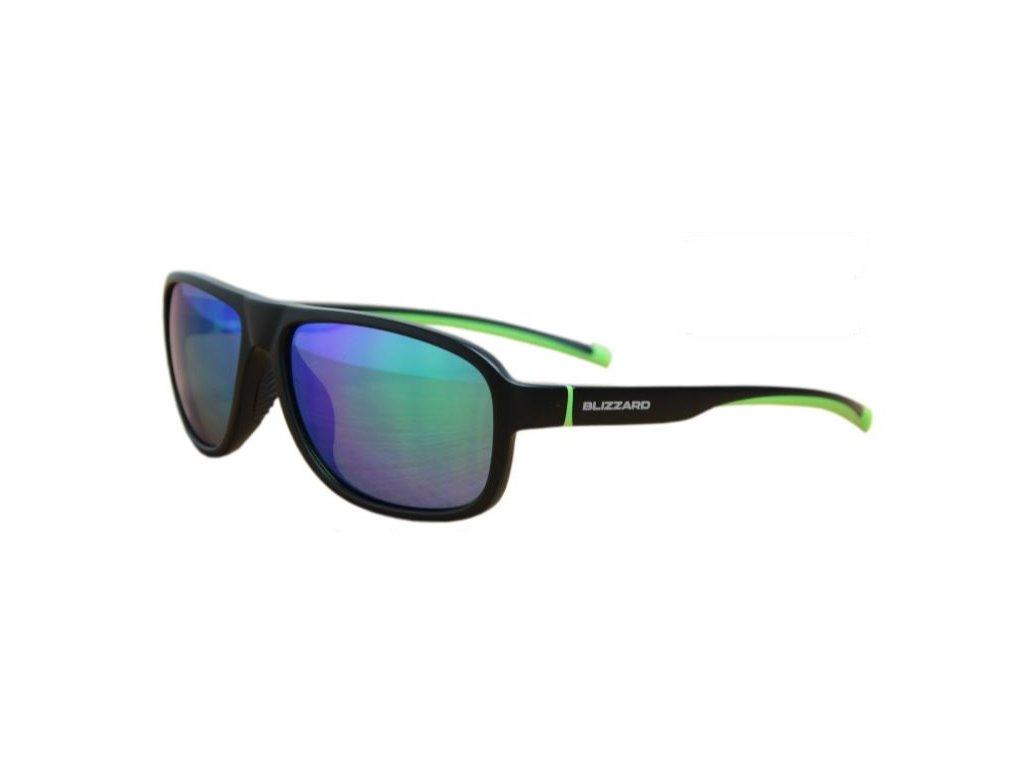 Sluneční brýle BLIZZARD POLSF705130 Rubber Black