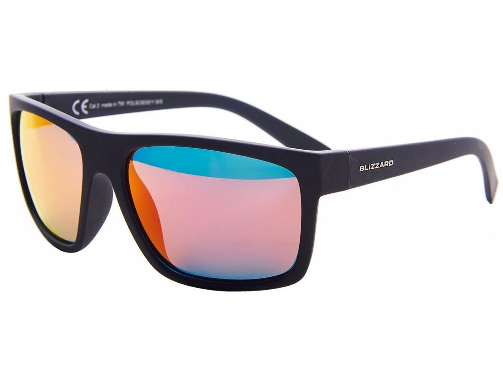Sluneční brýle BLIZZARD POLSC603011 Rubber Black