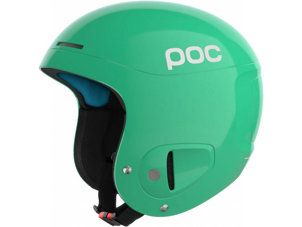 Přilba POC SKULL X SPIN Emerald Green