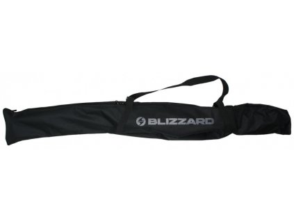 BLIZZARD Ski Bag for 1 pair Black/Silver 160-180 cm
