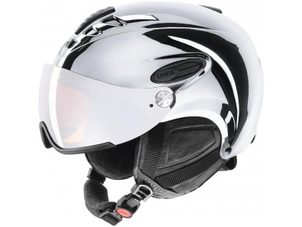 Přilba UVEX HLMT 300 Visor Chrome LTD