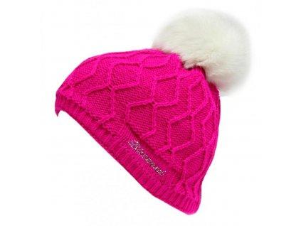 Čepice BLIZZARD Rabbit SW Pink