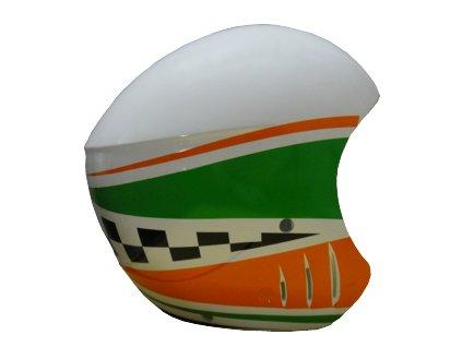 Přilba VOLA RACE FIS Green/Orange
