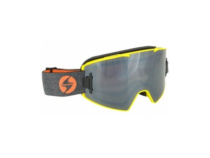 lyzarske bryle blizzard ski gog 927 magnetic box neon yellow matt 1x o[1]