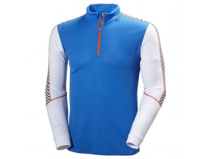 Mikina HELLY HANSEN DRY PERFORMANCE 1/2 Zip Racer Blue