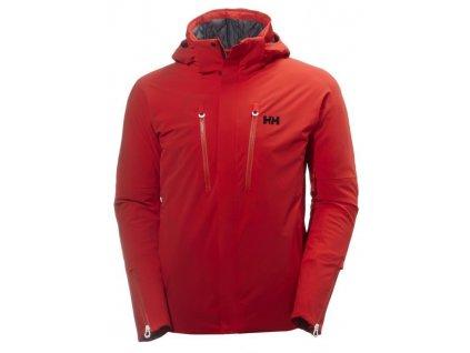 Pánská zimní bunda HELLY HANSEN Superstar Jacket Alert Red