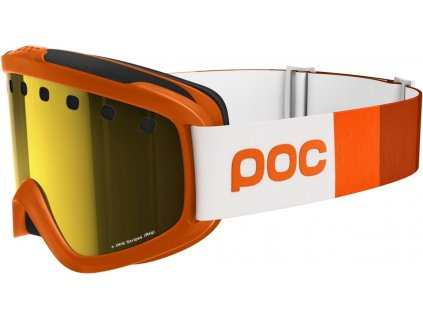 POC Iris Stripes Zink Orange S
