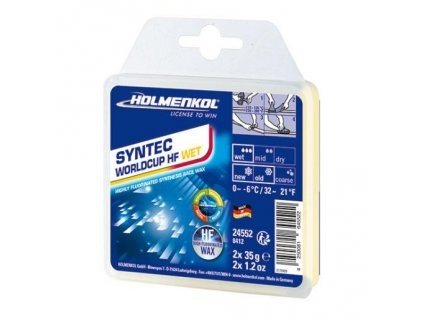 HOLMENKOL Syntec WC HF Wet 2x35g