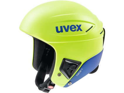 Přilba UVEX RACE + FIS  Lime/Blue
