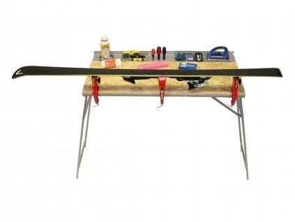 Profesionální skládací servisní stůl 110x55cm