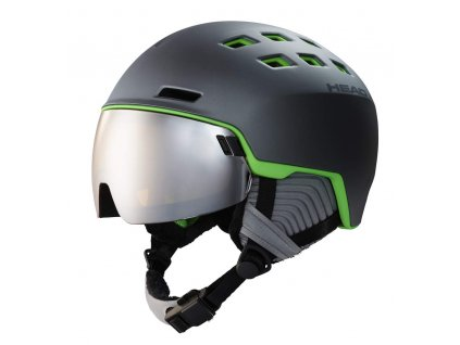 Přilba HEAD Radar Grey/Green
