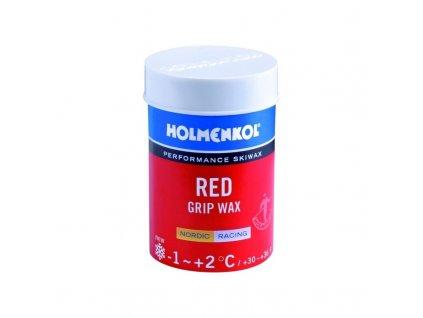 HOLMENKOL GRIP Red +2°C/-1°C