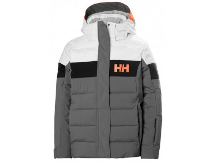 Lyžařská bunda Helly Hansen JR Diamond Jacket Quiete shade