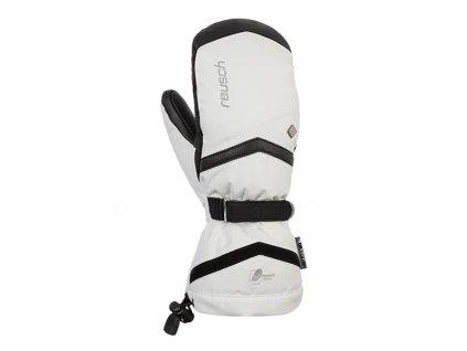 Damske lyzarske rukavice Reusch Naria XT 1101 White Black 1[1]