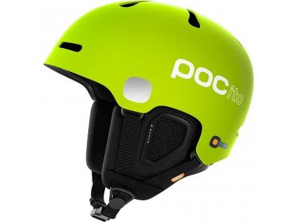 Přilba POCito Fornix Fluorescent Green