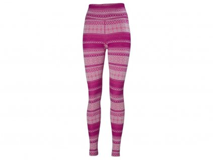 Kalhoty HELLY HANSEN W MERINO MID GRAPHIC PANT Dragon Fruit