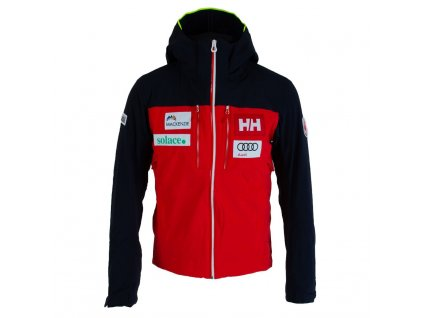 helly hansen men signal canada team jacket alert red navy f