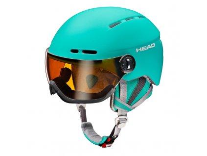 Přilba HEAD Queen Turquoise