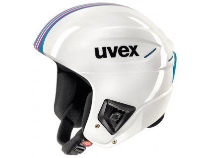 Helma UVEX RACE + FIS White/pink blue