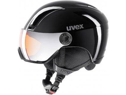 Přilba UVEX HLMT 400 Visor Black