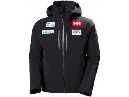 Bunda HELLY HANSEN Alpha Lifaloft Jacket CAN Black