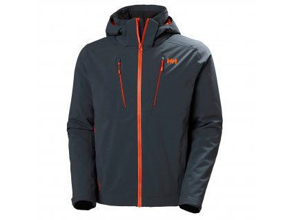 Pánská zimní bunda HELLY HANSEN Alpha 3.0 Jacket Slate