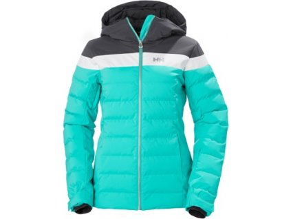 Bunda HELLY HANSEN W IMPERIAL PUFFY JACKET Turquoise
